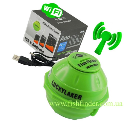 Wifi lucky fishfinder luckylaker ff916 for Lucky fish finder