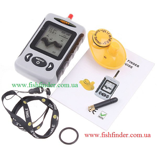 Эхолот Lucky FFW718 - беспроводной Wireless Fishfinder